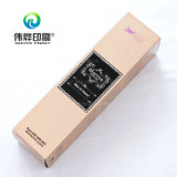 Impresión delicada papel rosa caja de empaquetado (para perfume)