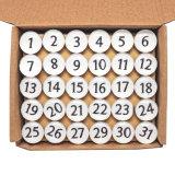 Ímã educacional do refrigerador da lembrança de 26 séries inglesas das letras para os miúdos FM-1041