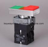Квадрат-Освещенный Keyway переключатель кнопка головки 22mm