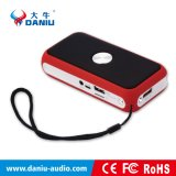 Heißer verkaufender beweglicher drahtloser Bluetooth Lautsprecher mit Powerbank und Taschenlampe