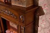 Einfache europäische Skulptur, die elektrische Kamin-Hotel-Möbel (322S, erhitzt)