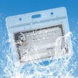 Poseedores de una tarjeta de identificación de nombre de la etiqueta conocida de la manera con los acolladores tejidos