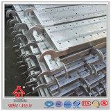Portadora tablón galvanizado alta casa prefabricada del acero del andamio del metal