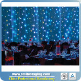 Tenda bianca della stella del LED per Wedding Deco