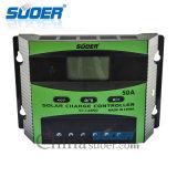 Contrôleur solaire d'énergie solaire de système domestique de Suoer 48V 50A (ST-C4850)