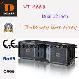 Vt4888 Zeile Reihen-PROaudiodoppeltes 12 Zoll