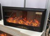Calentador eléctrico LED del hotel de la chimenea viva hermosa de la llama de los muebles (A-803S)
