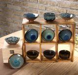 Glassa di ceramica Teaware cinese giapponese del Teacup dell'argilla della ciotola del tè
