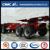 Cimc Export Type Cargo Trailer Train avec Dolly Trailer