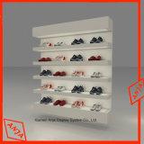Cabina de visualización del zapato de los soportes de visualización del zapato del MDF