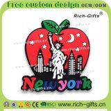Souvenir promotionnel personnalisé d'aimants de réfrigérateur de PVC de décoration de cadeaux les Etats-Unis (RC- USA)