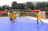 Langlebiges Gut, welches die im Freien/Indoor-Handball-Gerichte ausbreiten Handball-Fußboden-Fliesen blockiert