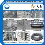 275g galvanisierte fabrizierten Stahlplatten-Silo