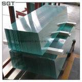 vidro do ferro de 3-19mm baixo & vidro de flutuador ultra desobstruído para a cerca da piscina