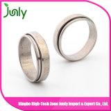 Acero inoxidable del anillo de los hombres del anillo de bodas de los hombres de la manera