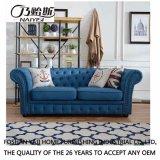 Sofá americano da tela do estilo de país para a mobília M3006 da sala de visitas