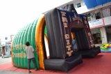 De opblaasbare Tunnel van de Ontploffing van de Voetbal van de Tunnel van de Kerel van de Speler van het Team van de Mascotte