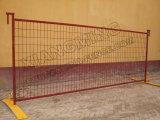 中間の波カッコと囲う粉のSprayingtemporaryの金網