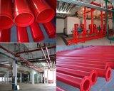 Tubo de acero del extremo Grooved para la protección contra los incendios
