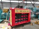 Exkavator-Material bereiten die Zerkleinerungsmaschine-Wanne auf, die Wanne zerquetscht