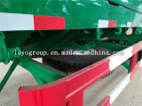 Dei 3 assi del contenitore di carico di trasporto del palo rimorchio semi