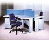 현대 금속 & 나무 사무실 테이블