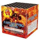Fuegos artificiales de la novedad de la pirotecnia de la fantasía de los fuegos artificiales de la torta del tiro de 0.8 pulgadas 16
