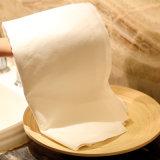 Billig Wegwerf Tuch-Wie Seidenpapier-Handservietten, weißes Tuch