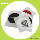 RFID ISO14443A S70 S50 S70 Nfc Paper Label Sticker Tags con Qr Code Printing para Smartphone