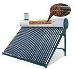 2014 Sale chaud Pre-Heated Solar Water Heater System avec Copper Coil