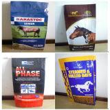 馬のFeed袋PlasticのPackage袋Pet Food/Feed Woven Bag (25kg/50kg)