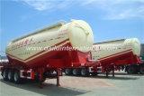 Massenpuder-materieller Transport-Tanker-LKW-halb Schlussteil des kleber-60cbm
