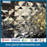 Feuilles de 201/304/316/430 de diamant acier inoxydable de plaque