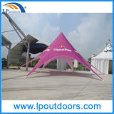 Kundenspezifisches Drucken-Messeen-Zelt, das Bildschirmanzeige-Stern-Zelt bekanntmacht