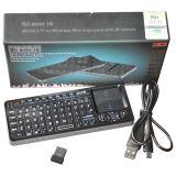 RII Mini I6 2ème 2.4GHz Wireless Keyboard + Universal Remote Control 2 dans 1