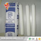 Velas de cera baratos para el hogar Velas blancas para Madagascar