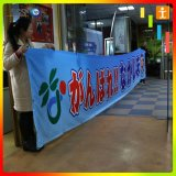Tessuto della bandiera di stampa di prezzi competitivi per la pubblicità della visualizzazione