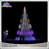 Albero a spirale caldo della decorazione LED di natale di vendita 3D