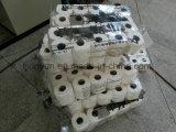 La chaîne de production à grande vitesse d'essuie-main de cuisine de papier de soie de soie de toilette logarithme naturel a vu la machine à emballer