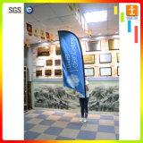 Bandeira personalizada do vôo da pena da praia do Teardrop de Pólo da fibra de vidro