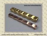 A554 de Vierkante Buis van het Ornament van het Roestvrij staal van de Kleur ASTM