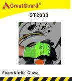 Перчатка нитрила пены (ST2030) (сертификат CE)