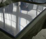 Folha plástica lustrosa desobstruída super do PVC para a impressão Offset