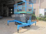 La antena móvil manual Scissor el elevador de la elevación del trabajo (SJY0.5-11)