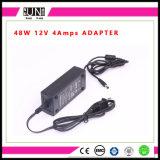 driver di 12V 4A 48W LED, alimentazione elettrica di DC12V 4A 48W LED, potere della striscia di 48W LED, corrente continua, Adattatore di AC/DC, adattatore 48W
