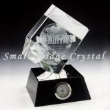 Trofeo cristalino del cubo 3D (JB0112)