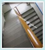Esteira de borracha da escada das vendas da fábrica, esteira antiderrapante da escada, esteira de borracha