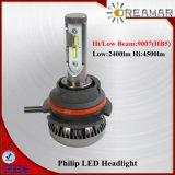 farol dobro do diodo emissor de luz de Philip do feixe de 9005 (HB3) /H10