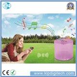 Lanterne solaire DEL de lampe solaire gonflable du prix usine avec le haut-parleur imperméable à l'eau de Bluetooth