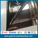 feuille épaisse 304 316 d'acier inoxydable de miroir de 0.5mm
